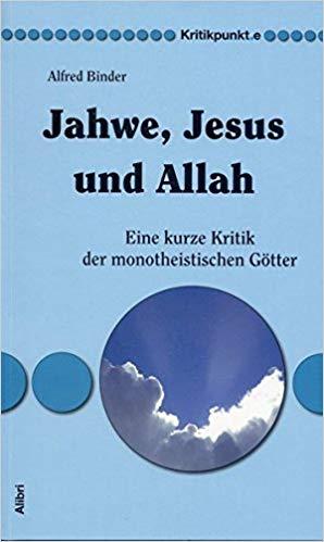 Buchcover Binder Jahwe