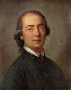 Johann Gottfried Herder (1744-1803), Gemälde von Anton Graff, 1785