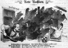 """""""Ungeziefer""""? Kultusminister Falk vertreibt Jesuiten und andere Orden aus Deutschland, in: Berliner Wespen, 21.5.1875"""