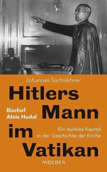 Buchcover Sachslehner: Hitlers Mann im Vatikan