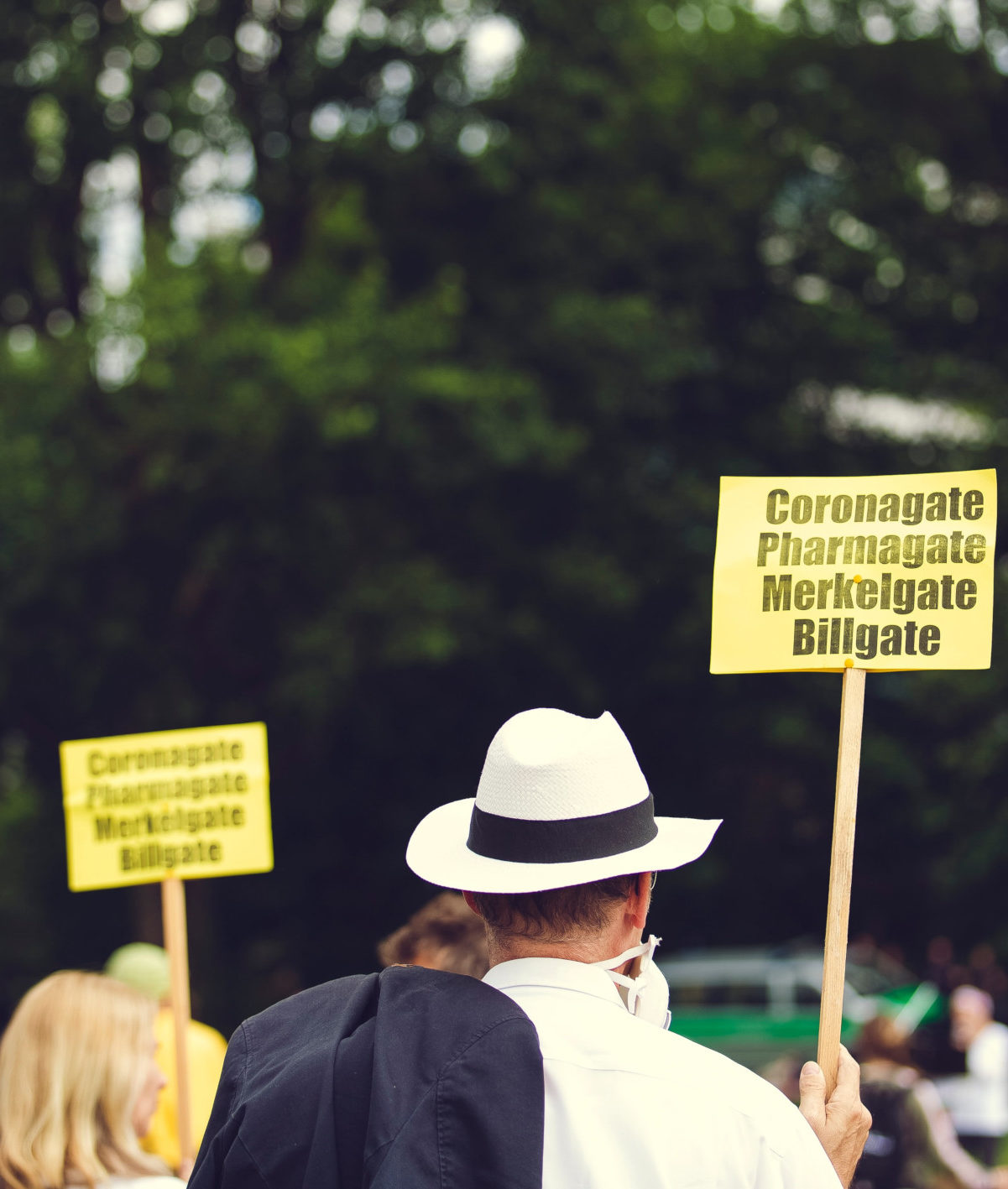 Verschwörungstheoretiker:innen auf dem Vormarsch, Foto: Markus Spiske / unsplash.com